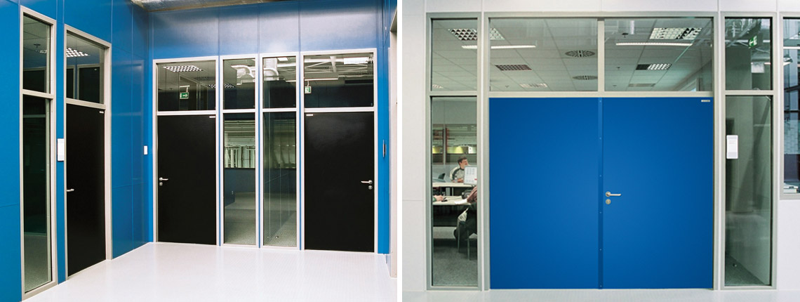 Durchblickfenster in Büros